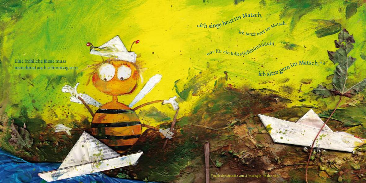 Hab Spaß, kleine Biene Amelie!