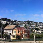 Die Hügel con San Francisco.