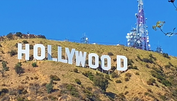 USA Roadtrip Tag 27: Hollywood Hills. Hollywood Sign. Walk of Fame. Venice Beach