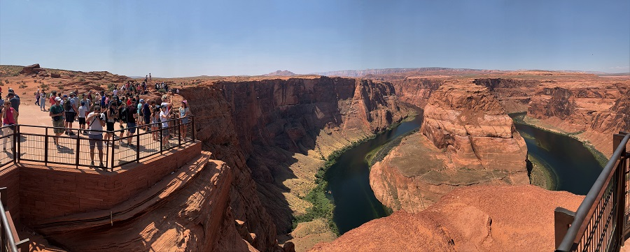 USA Roadtrip Tag 19: Monument Valley. Horseshoe Bend. Glen Canyon Staudamm. Lake Powell