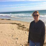Susanne am Jalama Beach