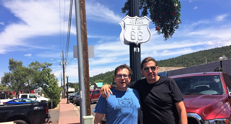 USA Roadtrip Tag 21: Historic Route 66. Williams. Kingman
